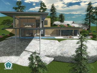 Modern houses by 3d Casa Design Modern