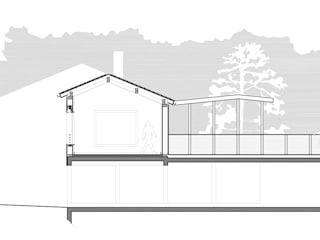 nouveau point de vue (Loire): Maisons de style de style Moderne par atacama architecture