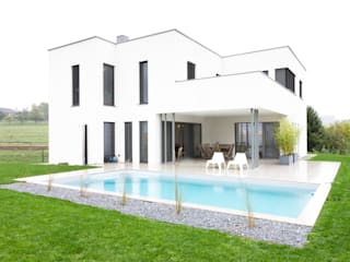Wohnhaus in Siedlungslage, Österreich Moderne Häuser von STUDIO 54 Ziviltechniker GmbH Modern