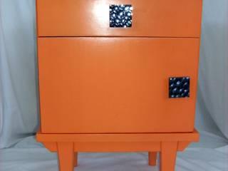 Mesas de Cabeceira Recuperas e Recicladas por Armazém 9 Rústico