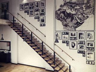 Studio 33 Salas de estar industriais por RIP3D ARCHVIZ Industrial