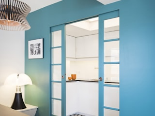 MELANIE LALLEMAND ARCHITECTURES 現代廚房設計點子、靈感&圖片