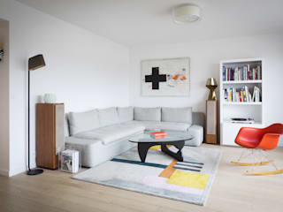 MELANIE LALLEMAND ARCHITECTURES Modern living room