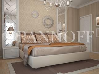 Панно из зеркал в спальной комнате:  в . Автор – Pannoff