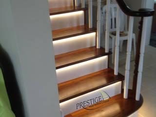 Prestige Ahşap Merdiven Dekorasyon San.Tic.LTD.ŞTİ – Beton Üstü Ahşap Merdiven:  tarz