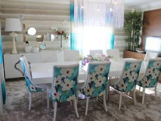 Cadeiras para mesa de Refeição:   por Andreia Louraço - Designer de Interiores (Contacto: atelier.andreialouraco@gmail.com)