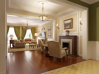 MARION STUDIO Living room Multicolored