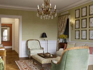 MARION STUDIO Living room Yellow