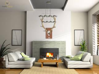 Cervus Collection Ambiente Comedores de estilo ecléctico de Rivero Cano Design Ecléctico