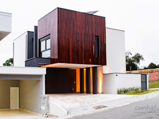 cunha² arquitetura Maisons minimalistes Bois