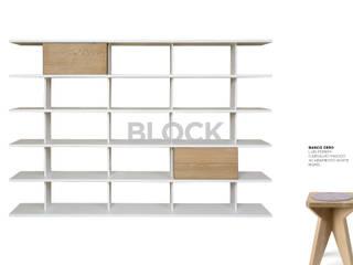 Estante modular Block:   por Boa Safra
