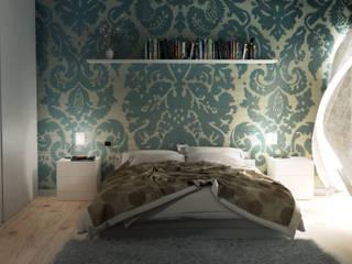 Casa Santin zona notte:  in stile  di Loudlab