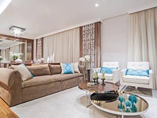Living room by Adriane Perotoni Arquitetura.Interiores, Modern