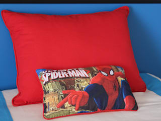 Andreia Louraço - Designer de Interiores (Email: andreialouraco@gmail.com) Dormitorios infantiles Accesorios y decoración Textil Rojo