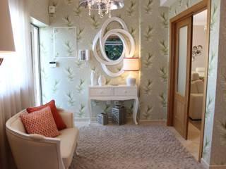 Andreia Louraço - Designer de Interiores (Email: andreialouraco@gmail.com) Pasillos, vestíbulos y escaleras de estilo moderno Madera Verde