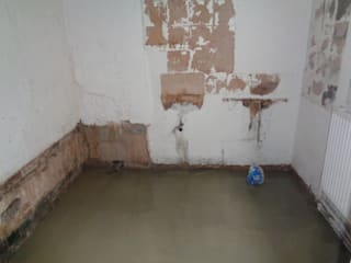 Floor leveled:   by Coventry Bathrooms