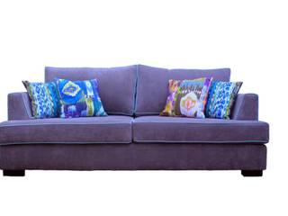 Estantería Leila y Sillón individual Etiopía Modern Living Room by Muebla Modern