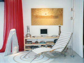 Living room by CMSP Arquitetura + Design