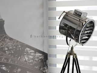 FORUM PUERTO NORTE : Pasillos y recibidores de estilo  por Barsante Disegno,