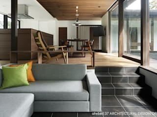 Phòng khách by atelier137 ARCHITECTURAL DESIGN OFFICE