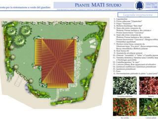 Un giardino in Emilia :  in stile  di Gruppo Mati srl (MATI1909)