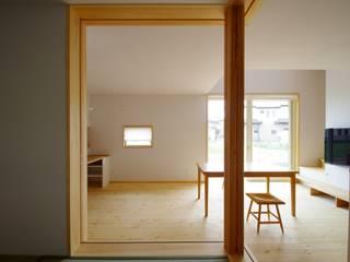 取手市O邸新築工事 北欧デザインの リビング の K+Yアトリエ一級建築士事務所 北欧