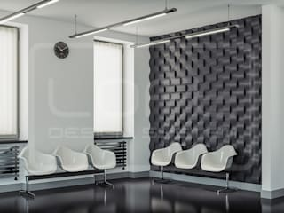 3D Decorative Panel - Loft System Design - model Twist Loft Design System Walls & flooringWall tattoos