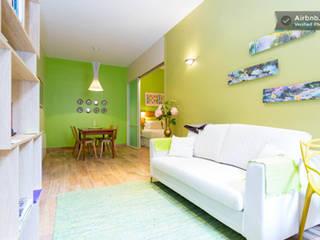 salon & salle à manger:  de style  par concepts d'interieurs