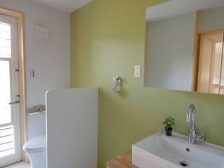 Scandinavian style bathroom by K+Yアトリエ一級建築士事務所 Scandinavian
