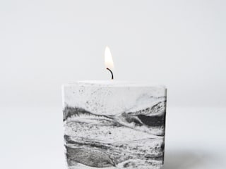 "Tealight holder ""marble"" :   door STUDIOGWEN"