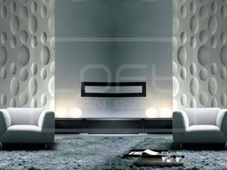3D Decorative Panel - Loft System Design - model Ellipse Loft Design System Walls & flooringWall tattoos