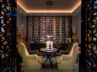 Wine cellar by Viterbo Interior design