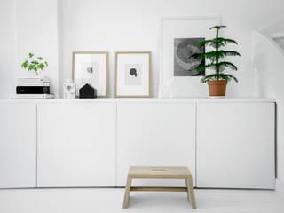 Woonhuis | Delft :  Woonkamer door Design Studio Nu, Scandinavisch