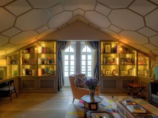 Eklektik Çalışma Odası Viterbo Interior design Eklektik