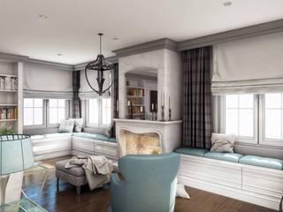 Yunus Emre | Interior Design VERO CONCEPT MİMARLIK Salas de estilo moderno
