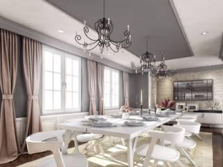 Yunus Emre | Interior Design VERO CONCEPT MİMARLIK Sala da pranzo moderna