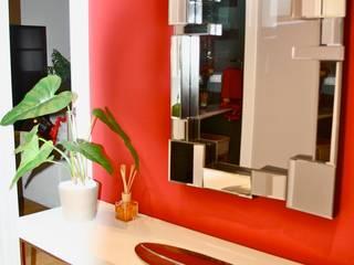 CAMBIO RADICAL Pasillos, vestíbulos y escaleras de estilo moderno de DECOROCONMUCHOGUSTO Moderno