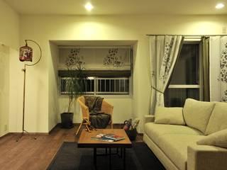 Moderne Wohnzimmer von 株式会社トキメキデザイン・アトリエ Modern