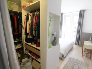 Réhabilitation d'un appartement à Strasbourg: Dressing de style  par Ae-design