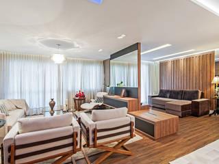 Salones de estilo moderno de Patrícia Azoni Arquitetura + Arte & Design Moderno