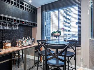 Bodegas de vino de estilo moderno por Patrícia Azoni Arquitetura + Arte & Design