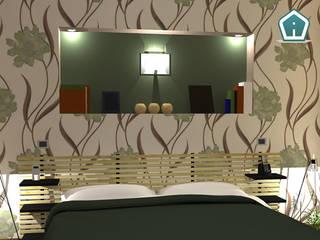 Camere: Camera da letto in stile  di 3D Casa Design