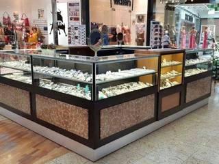 Quiosque Loja - Shopping D. Pedro por Marcenaria Moraes Moderno
