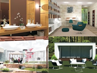 immagini di copertina: Giardino in stile  di 3D Casa Design