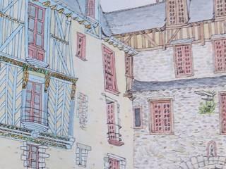 Cityscape- Croquis:  de style  par Etiou