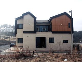 GN건축사사무소 Case in stile minimalista