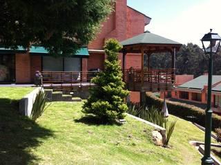 สวน by Vertice Oficina de Arquitectura
