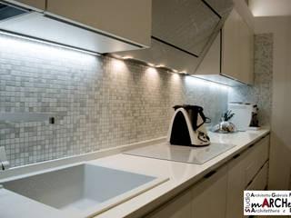 Riuso Contemporaneo Cucina eclettica di Studio ARCH+D Eclettico