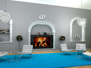 Motel one 3D-Visualisierung Cramer Architektur Design (CAD) Klassische Hotels Türkis