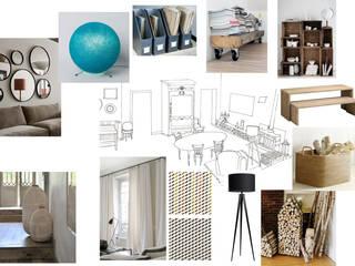 Réaménagement et décoration d'une maison familiale: MCCB - Conseil en décoration et réaménagement- Salon moderne